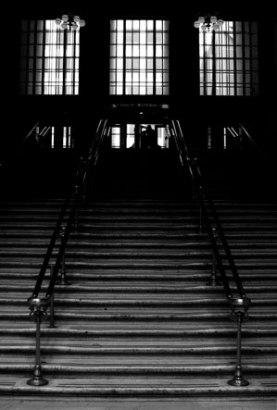 union-stairs-b&w